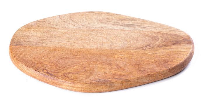 Wooden oval kitchen board