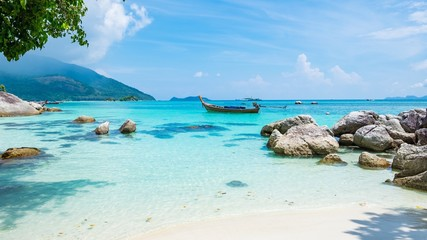 Sunshine Caribbean Beach Wallpaper HD