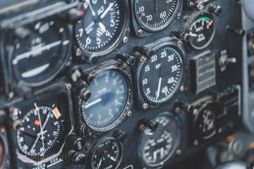 飛行機の計器類
