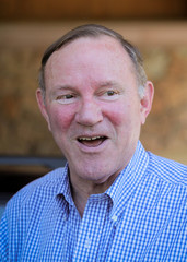 Donald Graham, former publisher of the Washington Post and chairman of Graham Holdings Company, attends the annual Allen and Co. Sun Valley media conference in Sun Valley, Idaho