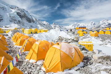 Mount Everest Basecamp Region