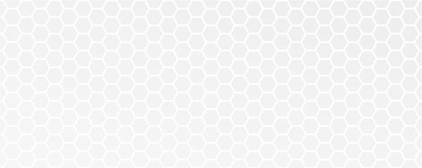 Obraz white abstract honeycomb background vector illustration EPS10 - fototapety do salonu
