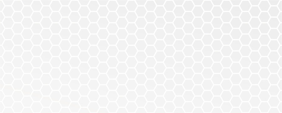white abstract honeycomb background vector illustration EPS10