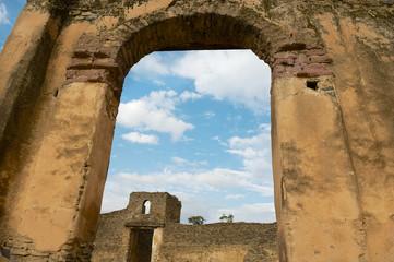 Fortress-enclosure in Gondar.