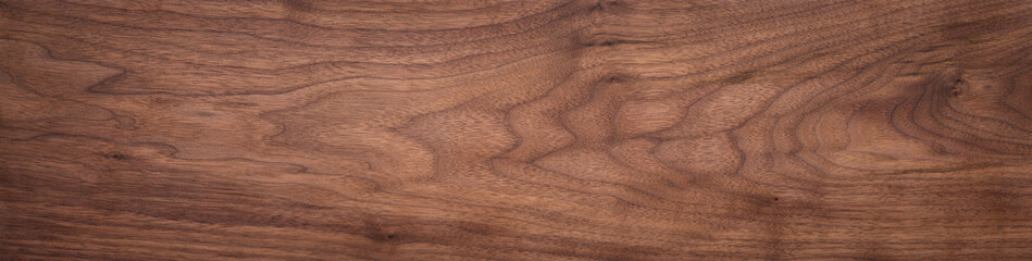 Fotobehang Hout Walnut wood texture. Super long walnut planks texture background.Texture element