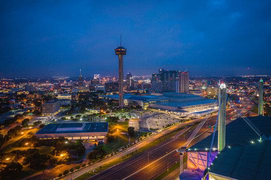 Aerial Landscape of San Antonio Texas