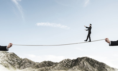 Hidden risks,dangers and business support concepts