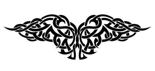 Celtic Wing Tattoo