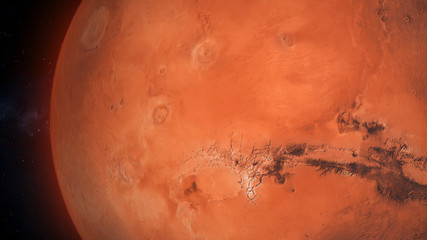 View Onto The Red Planet, Mars