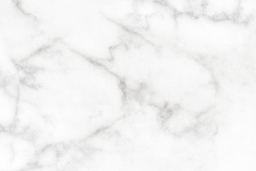 Photo sur Aluminium Marble wall surface white pattern graphic abstract light elegant black for do ceramic counter texture tile gray silver background natural for interior decoration and outside.