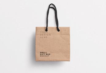 Small Gift Bag Mockup