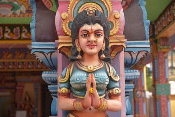 Temple hindou île maurice