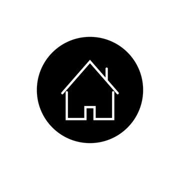 house icon vector illustration - vector