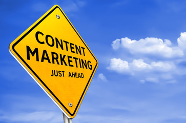 CONTENT MARKETING - traffic sign information