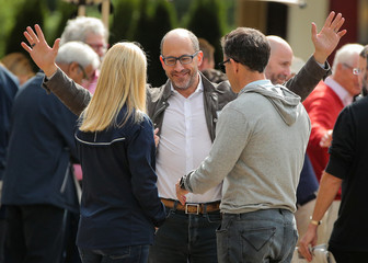 Dick Costolo, former CEO of Twitter, attends the annual Allen and Co. Sun Valley media conference in Sun Valley, Idaho