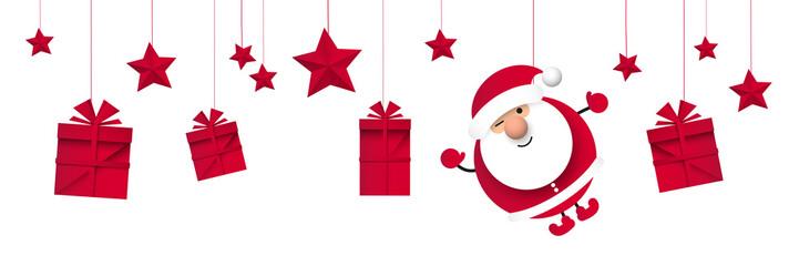 Fototapeta Święty Mikołaj. Boże narodzenie. Ilustracja wektorowa