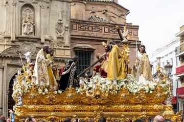 Fototapete - hermandad de la trinidad, misterio del decreto, semana santa de Sevilla