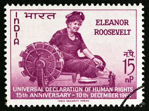 Eleanor Roosevelt (India 1963)