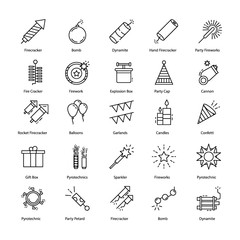 Pyrotechnics Icons Pack