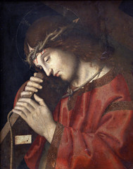 Marco Palmezzano: Jesus carrying the cross