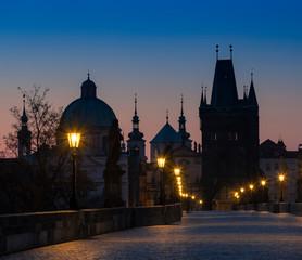 Wall Mural - Charles bridge at Sunrise, Prague, Czech Republic