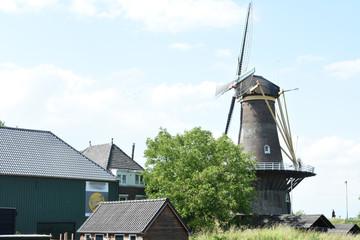 dutch windmill in the city of Gorinchem