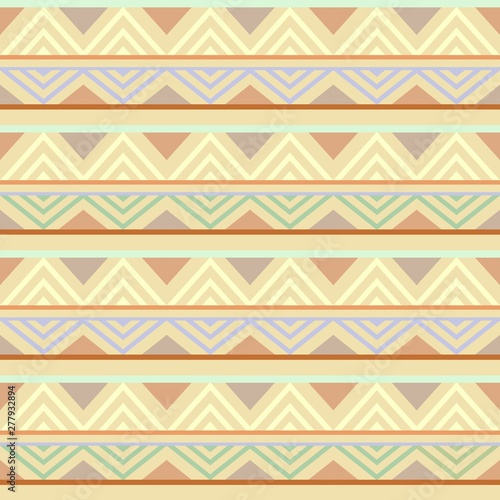 Abstract African Seamless Textile Pattern Design 4