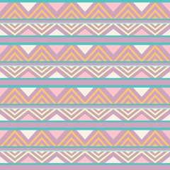 In de dag Draw Abstract African Seamless Textile Pattern Design 1