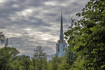 Yaroslavl. Peter and Paul Park and the Church of saints Peter and Paul. 1