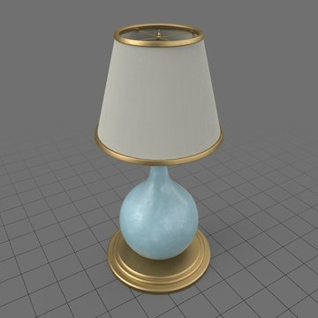 Vintage rounded lamp