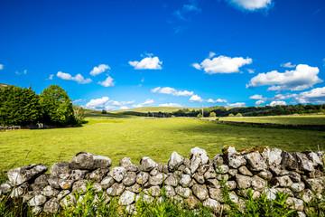 Beautiful landscape in Yorkshire Dales, England, UK