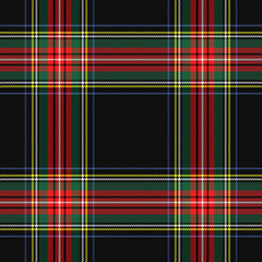 Tartan Stewart Royal plaid. Scottish cage