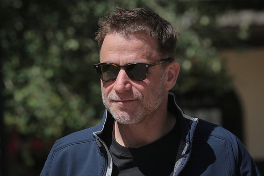 Stewart Butterfield, Slack CEO and co-founder, attends the annual Allen and Co. Sun Valley media conference in Sun Valley, Idaho