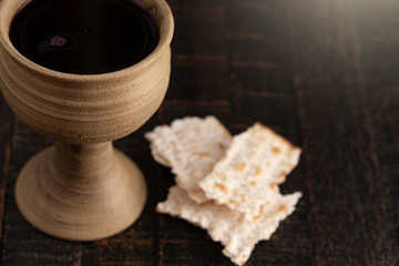 Holy Communion or Lords Supper Symbols of Jesus Christ