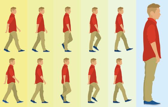 Side Walk Cycle for Teen Boy