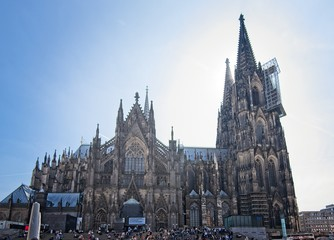 Fototapete - Cologne / Koln Germany Cathedral
