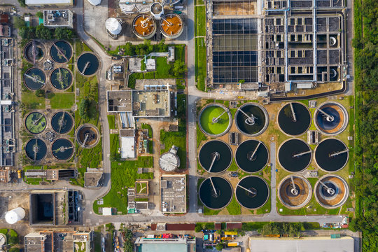 Hong Kong Sewage treatment plant