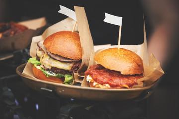 street food festival burgers
