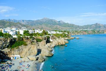 Playa de Calahonda in Nerja, Andalusia, Spain