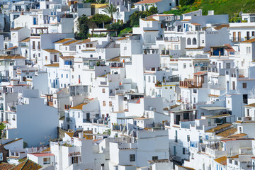 White villages of Torrox, Andalusia, Spain