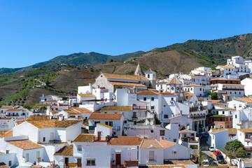 White village of El Borge, Andalusia, Spain