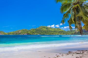 beach and tropical sea, Seychelles