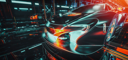 High Tech cars & Cyber.
