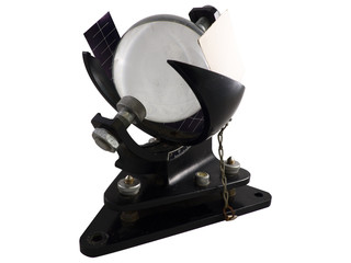 Campbell-Stokes heliograph to recorder sun. Designed record the hours of bright sunshine.