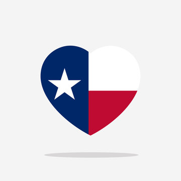 Texas Flag icon sign template color editable. Texas national symbol vector illustration for graphic and web design.