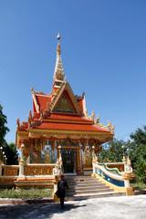 Buddhistische Tempel und Buddha in Südostasien