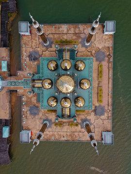 Aerial view of Masjid Kristal