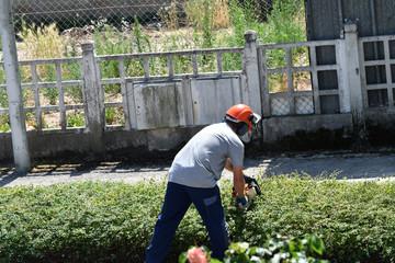 jardinier d'entretien