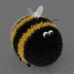 Stylized bumblebee