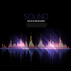 music track audio pattern sound background